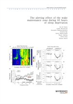 도서 이미지 - The alerting effect of the wake maintenance zone during 40 hours of sleep deprivation