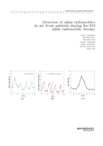 도서 이미지 - Detection of alpha radionuclides in air from patients during Ra-223 alpha radionuclide the