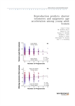 도서 이미지 - Reproduction predicts shorter telomeres and epigenetic age acceleration among young adult