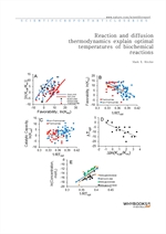 도서 이미지 - Reaction and diffusion thermodynamics explain optimal temperatures of biochemical reaction