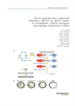 도서 이미지 - Novel interactomics approach identifies ABCA1 as direct target of evodiamine, which increa