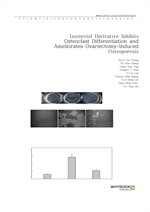 도서 이미지 - Isosteviol Derivative Inhibits Osteoclast Differentiation and Ameliorates Ovariectomy-Indu