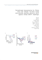 도서 이미지 - Intradermal immunization by Ebola virus GP subunit vaccines using microneedle patches prot