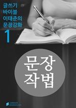 도서 이미지 - 문장작법 - 문장강화 (1)