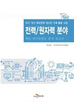 도서 이미지 - 전력/원자력 분야 2017(특허 메가트렌드 분석 보고서)