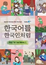 도서 이미지 - 한국어를 한국인처럼
