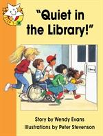 도서 이미지 - Read Together L1-8 'Quiet in the Library'