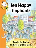 도서 이미지 - Read Together L5-8 Ten Happy Elephants