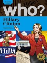 도서 이미지 - Who? 04 Hillary Clinton
