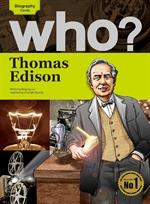 도서 이미지 - Who? 08 Thomas Edison