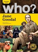 도서 이미지 - Who? 13 Jane Goodall