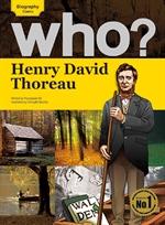 도서 이미지 - Who? 23 Henry David Thoreau