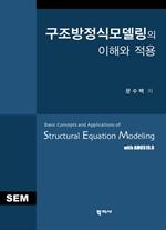도서 이미지 - 구조방정식모델링의 이해와 적용