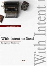 도서 이미지 - With Intent to Steal