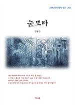 도서 이미지 - 김동인 눈보라