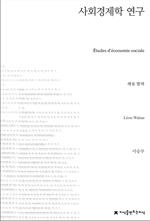 도서 이미지 - 사회경제학 연구