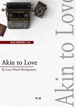 도서 이미지 - Akin to Love