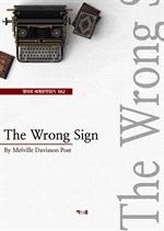 도서 이미지 - The Wrong Sign