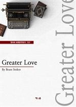 도서 이미지 - Greater Love