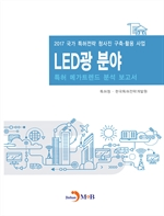 도서 이미지 - LED광 분야 특허 메가트렌드 분석 보고서 2017