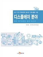도서 이미지 - 디스플레이 분야 특허 메가트렌드 분석 보고서 2017