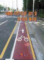 도서 이미지 - 서울형 자전거도로 설치 및 유지관리 매뉴얼