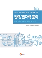 도서 이미지 - 전력 원자력 분야 특허 메가트렌드 분석 보고서 2017