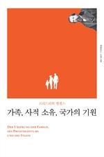 도서 이미지 - 가족, 사적 소유, 국가의 기원