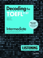 도서 이미지 - Decoding the TOEFL® iBT LISTENING Intermediate (New TOEFL Edition)
