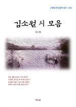 도서 이미지 - 김소월 시 모음