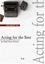 도서 이미지 - Acting for the Best