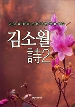도서 이미지 - 김소월 時2