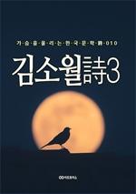 도서 이미지 - 김소월 時3