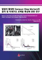 도서 이미지 - 알칼리 활성탄 Gangue-Slag Mortars의 공극 및 미세구조 프랙탈 특성에 관한 연구