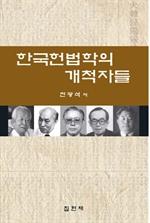 도서 이미지 - 한국헌법학의 개척자들