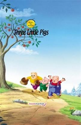 도서 이미지 - Three Little Pigs