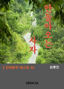 도서 이미지 - 안돌아오는 사자 : 한국문학 베스트 65