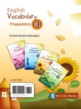 도서 이미지 - English Vocabulary for Preparatory 3