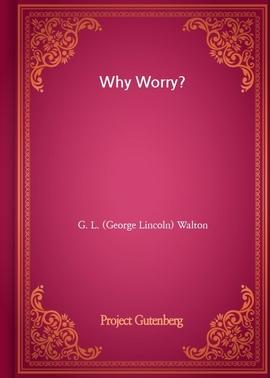도서 이미지 - Why Worry?