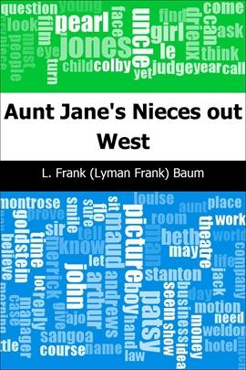 도서 이미지 - Aunt Jane's Nieces out West