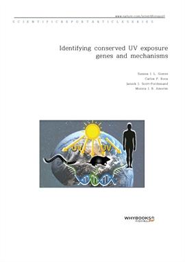 도서 이미지 - Identifying conserved UV exposure genes and mechanisms