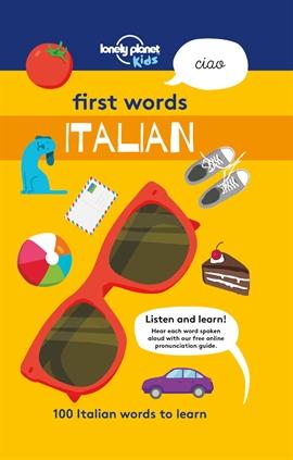 도서 이미지 - First Words - Italian