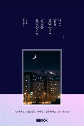 도서 이미지 - 나는 달을 보았는가? 달빛을 보았는가?