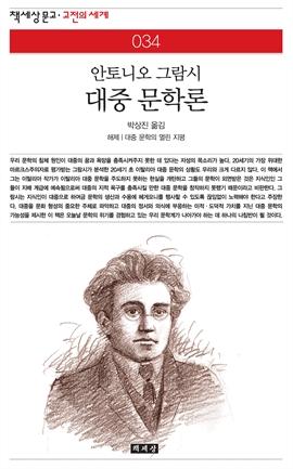 도서 이미지 - 대중 문학론
