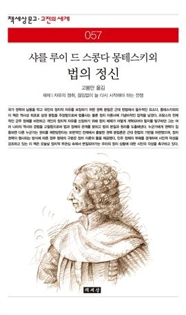 도서 이미지 - 법의 정신