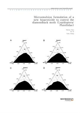 도서 이미지 - Microemulsion formulation of a new biopesticide to control the diamondback moth (Lepidopte