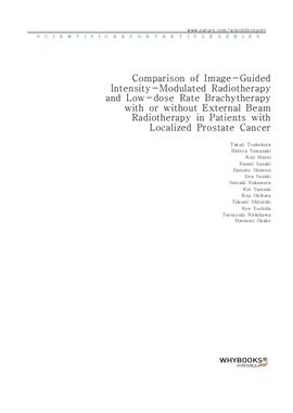 도서 이미지 - Comparison of Image-Guided Intensity-Modulated Radiotherapy and Low-dose Rate Brachytherap
