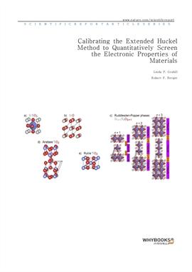 도서 이미지 - Calibrating the Extended Hückel Method to Quantitatively Screen the Electronic Properties