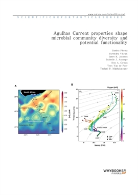 도서 이미지 - Agulhas Current properties shape microbial community diversity and potential functionality