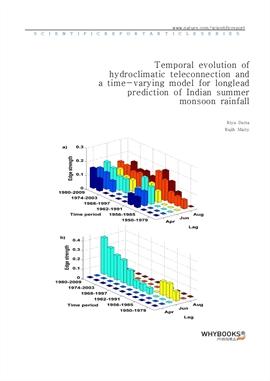도서 이미지 - Temporal evolution of hydroclimatic teleconnection and a time-varying model for long-lead